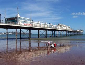 Paignton Beach Sea Front