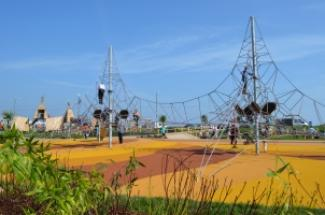 Paignton Beach, Geopark, play park, children